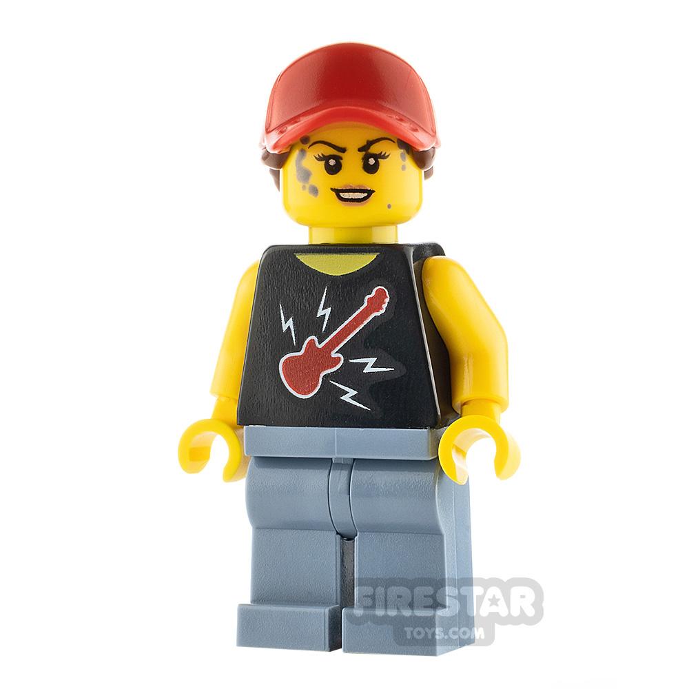 LEGO City Minifigure Female Mechanic
