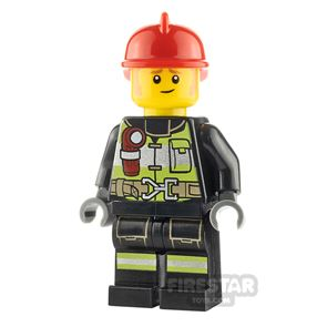 LEGO City Minifigure Fire Fighter Clemmons