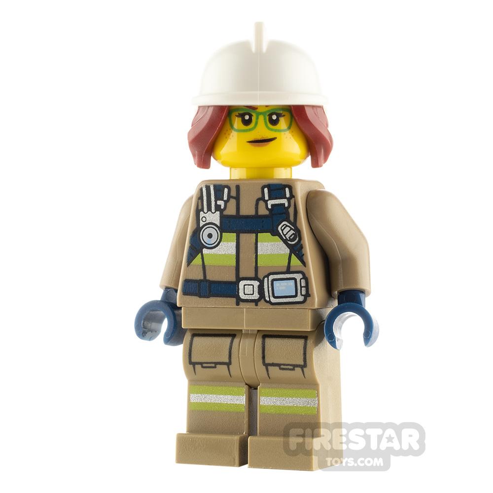 LEGO City Minfigure Freya McCloud
