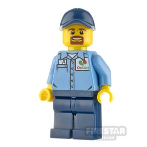 LEGO City Minifigure Gas Station Worker