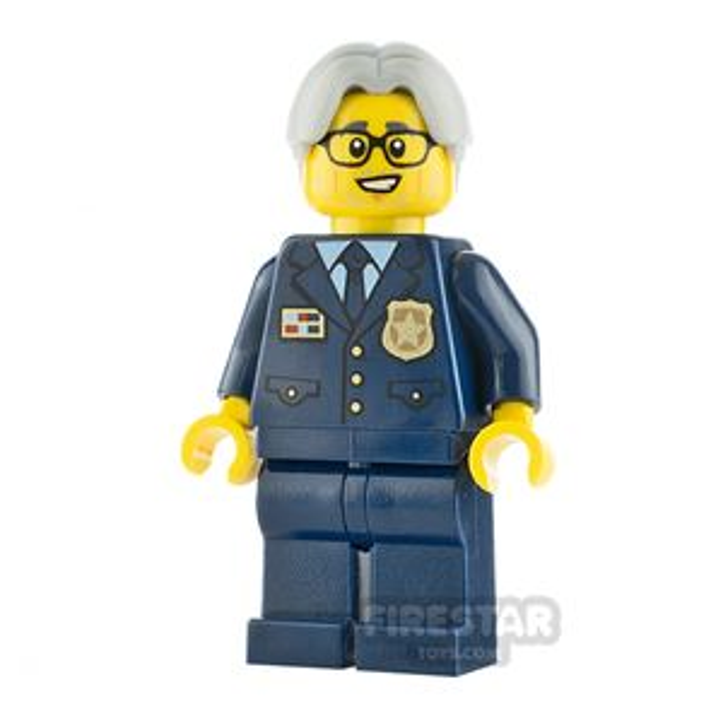 LEGO City Minifigure Police Chief Wheeler