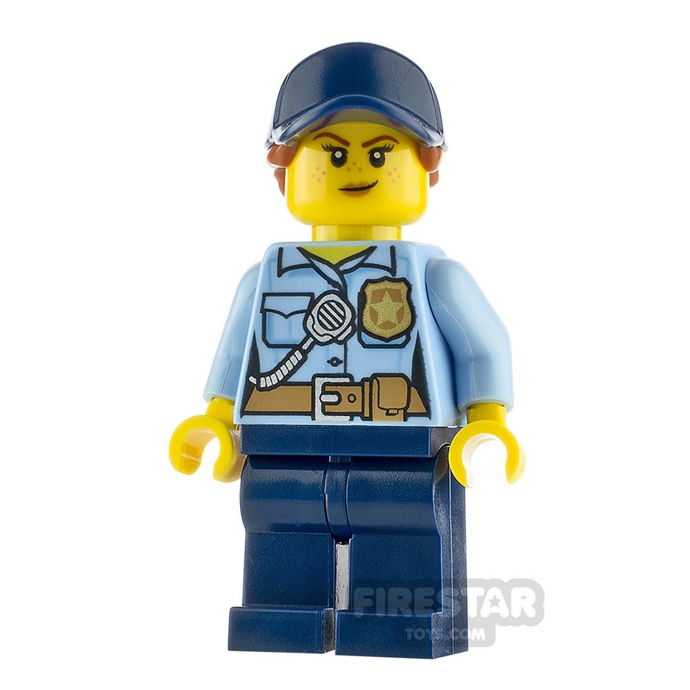 LEGO City Minifigure Police Officer Female
