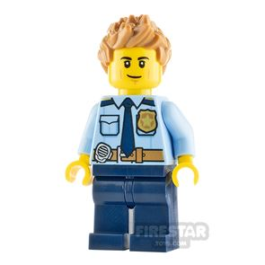 LEGO City Minifigure Police Officer Male