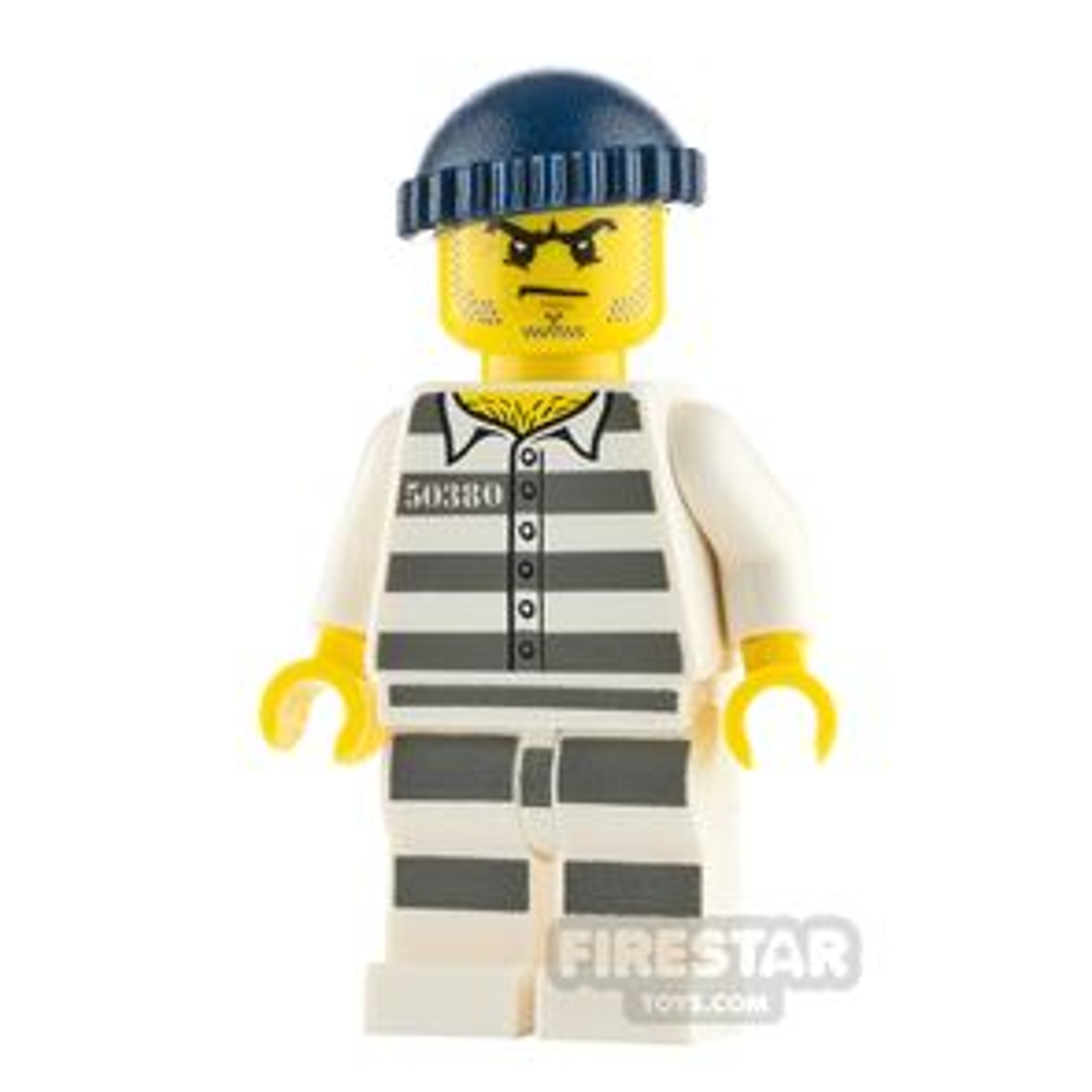 LEGO City Minifigure Jail Prisoner 50380