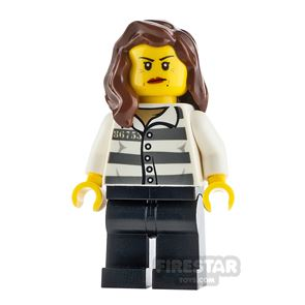 LEGO City Minifigure Jail Prisoner 86753