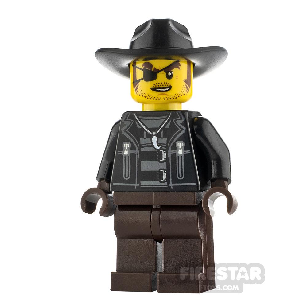 LEGO City Minfigure Male Crook Snake Rattler