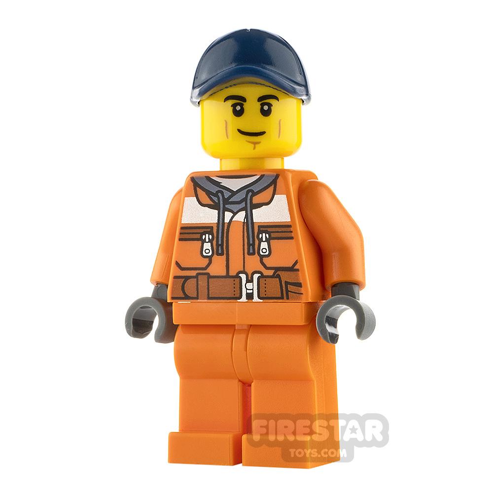 LEGO City Minfigure Street Sweeper Operator