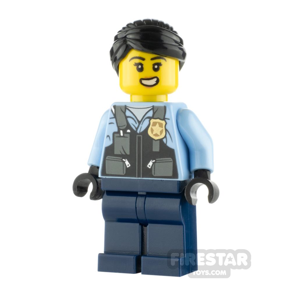 LEGO City Minfigure Police Officer Rooky Partnur