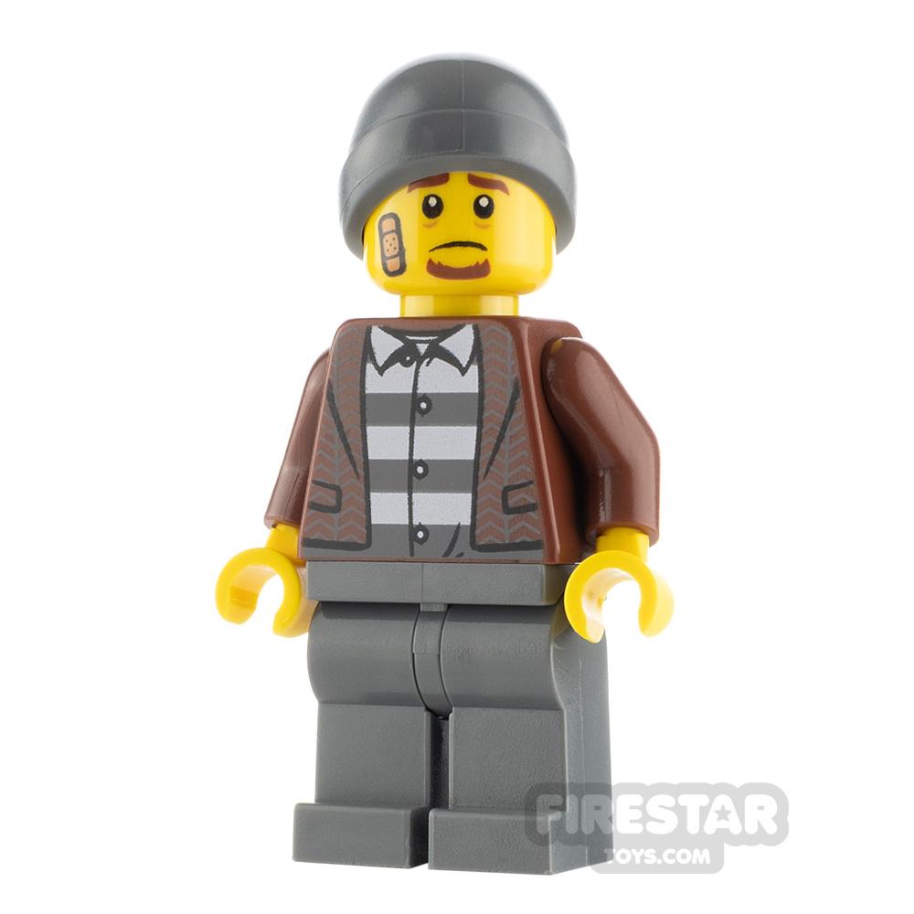 LEGO City Minfigure Frankie Lupelli Tweed Jacket