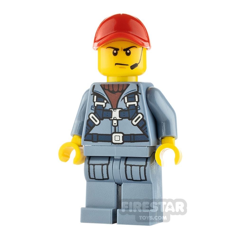 LEGO City Minfigure Ocean Submarine Pilot Male