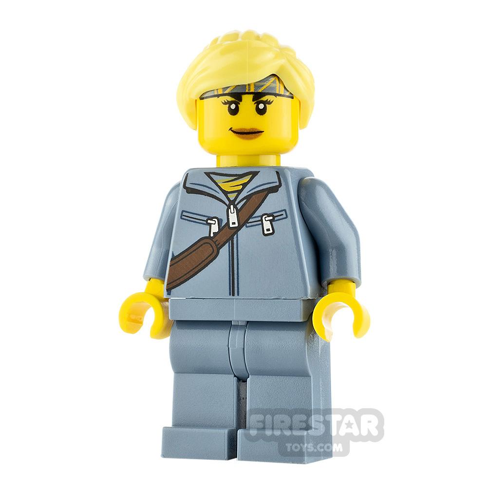 LEGO City Minfigure Jessica Sharpe