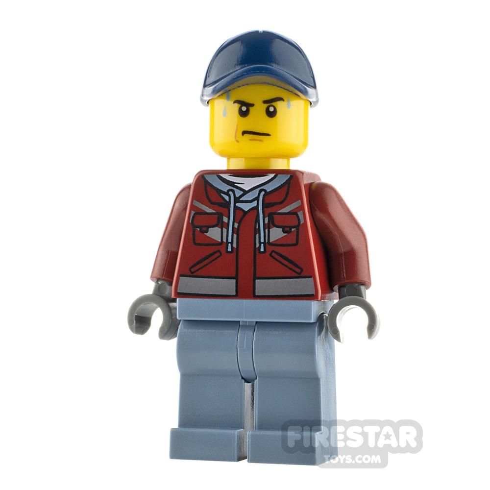 LEGO City Minfigure Explorer Hooded Sweatshirt