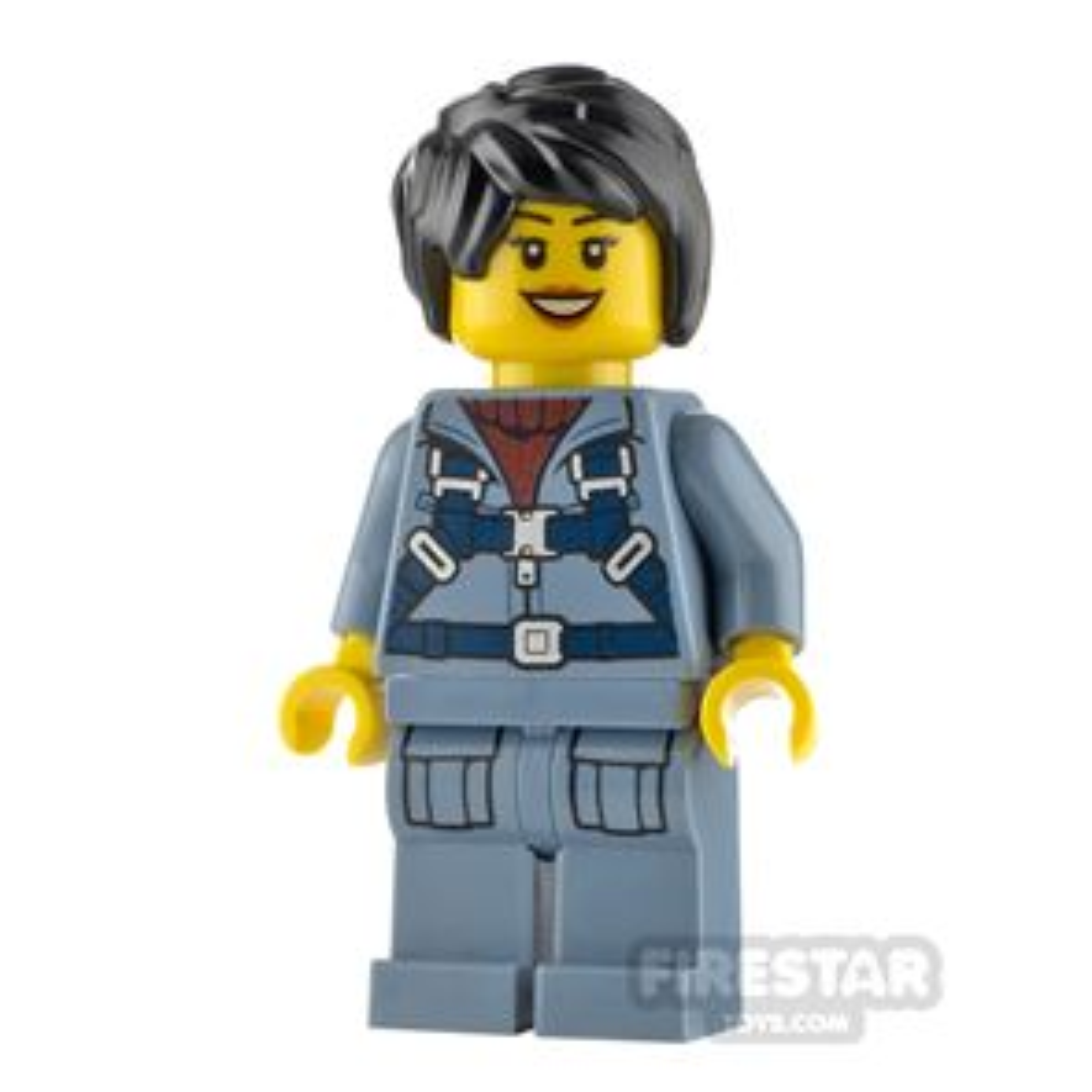 LEGO City Minfigure Mini-Submarine Pilot Female