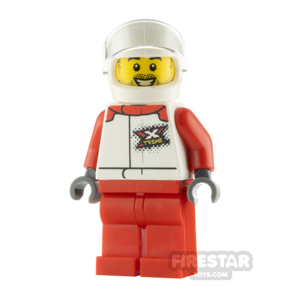 LEGO City Minfigure Helicopter Pilot Xtreme Jacket