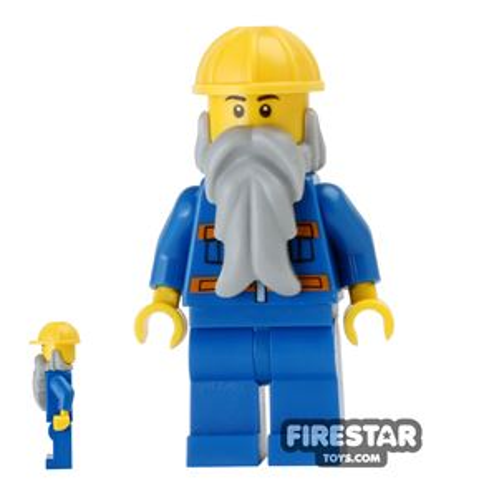 LEGO City Mini Figure - Construction Worker 19