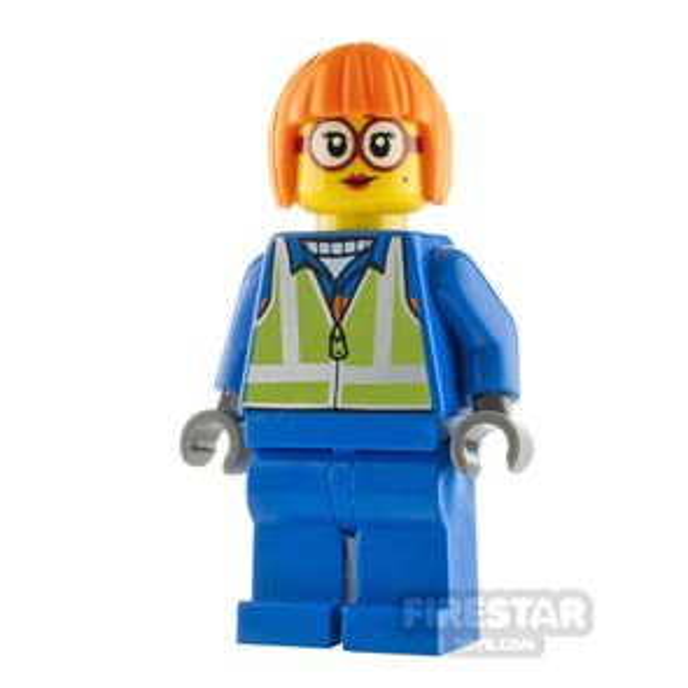 LEGO City Minfigure Shirley Keeper