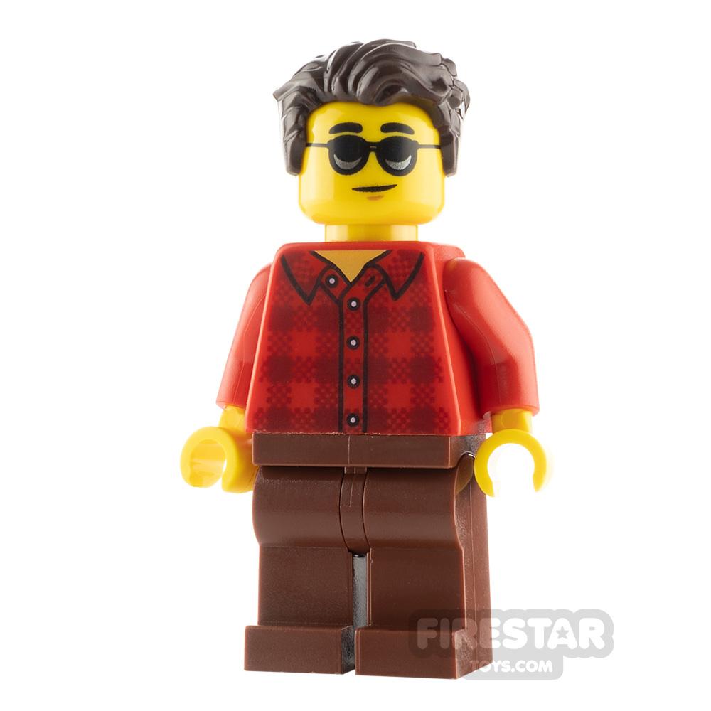 LEGO City Minfigure Sunglasses and Flannel Shirt