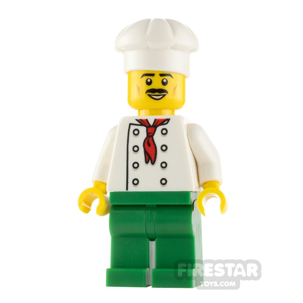 LEGO City Minfigure Chef Black Moustache