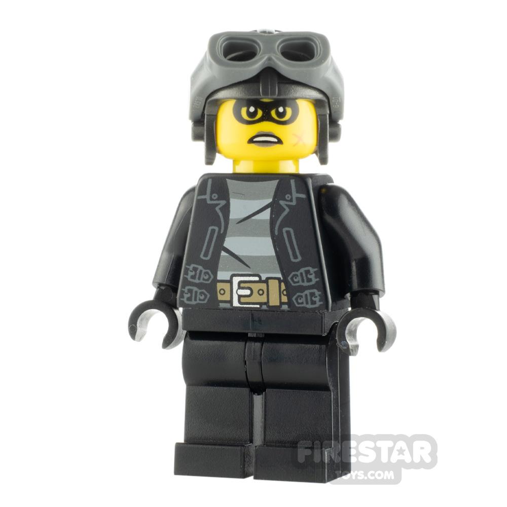 LEGO City Minfigure Clara the Criminal Aviator Cap