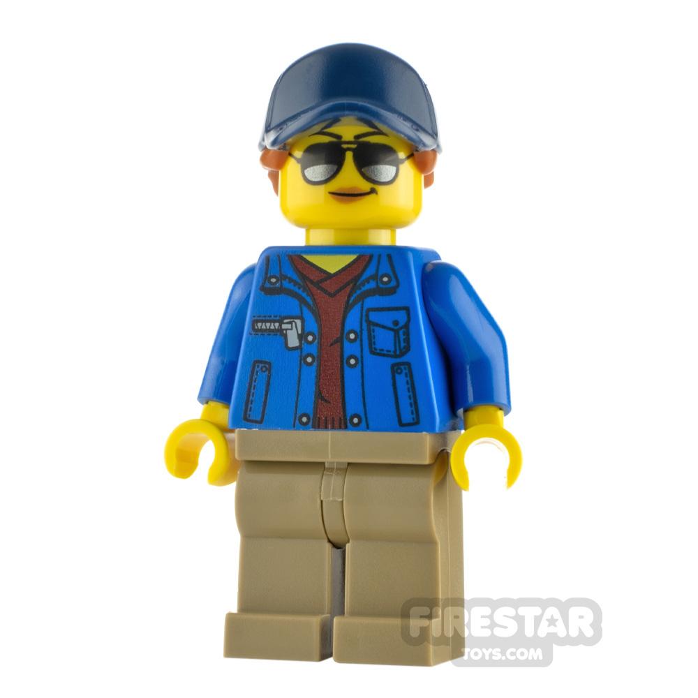 LEGO City Minfigure Ground Crew V-Neck Sweater