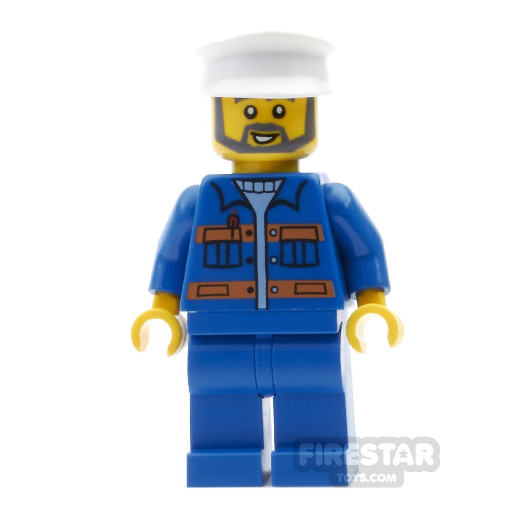 LEGO City Mini Figure - Dock Worker