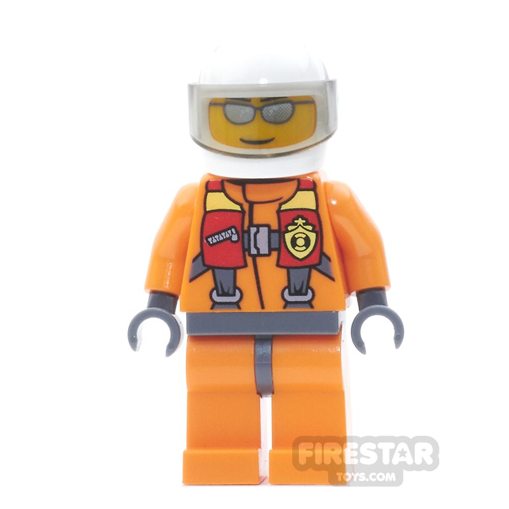 LEGO City Mini Figure - Coast Guard City - Pilot