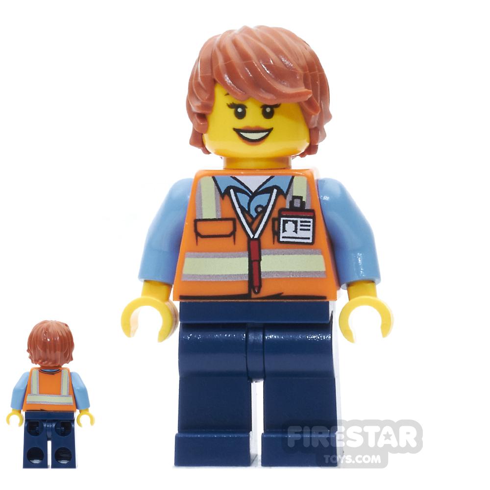LEGO City Mini Figure - Service Car Female Driver