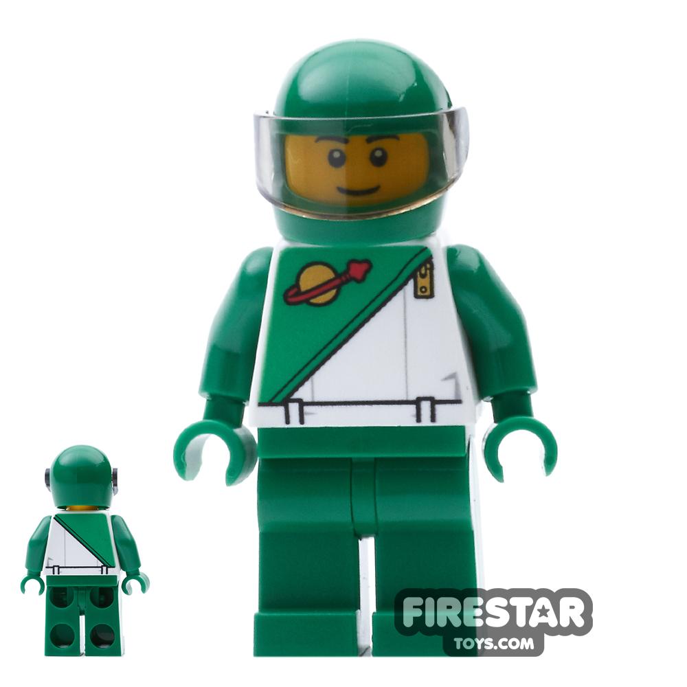 LEGO City Mini Figure - City Square LEGO Store Statue - Futuron Green