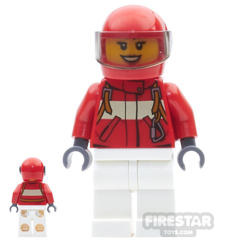 LEGO City Mini Figure - Paramedic - Female Pilot