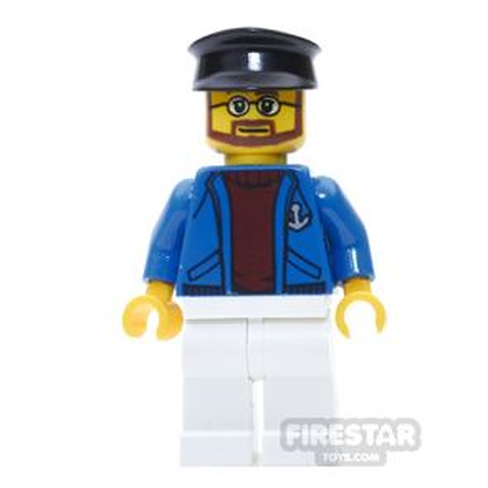 LEGO City Mini Figure - Ferry Captain