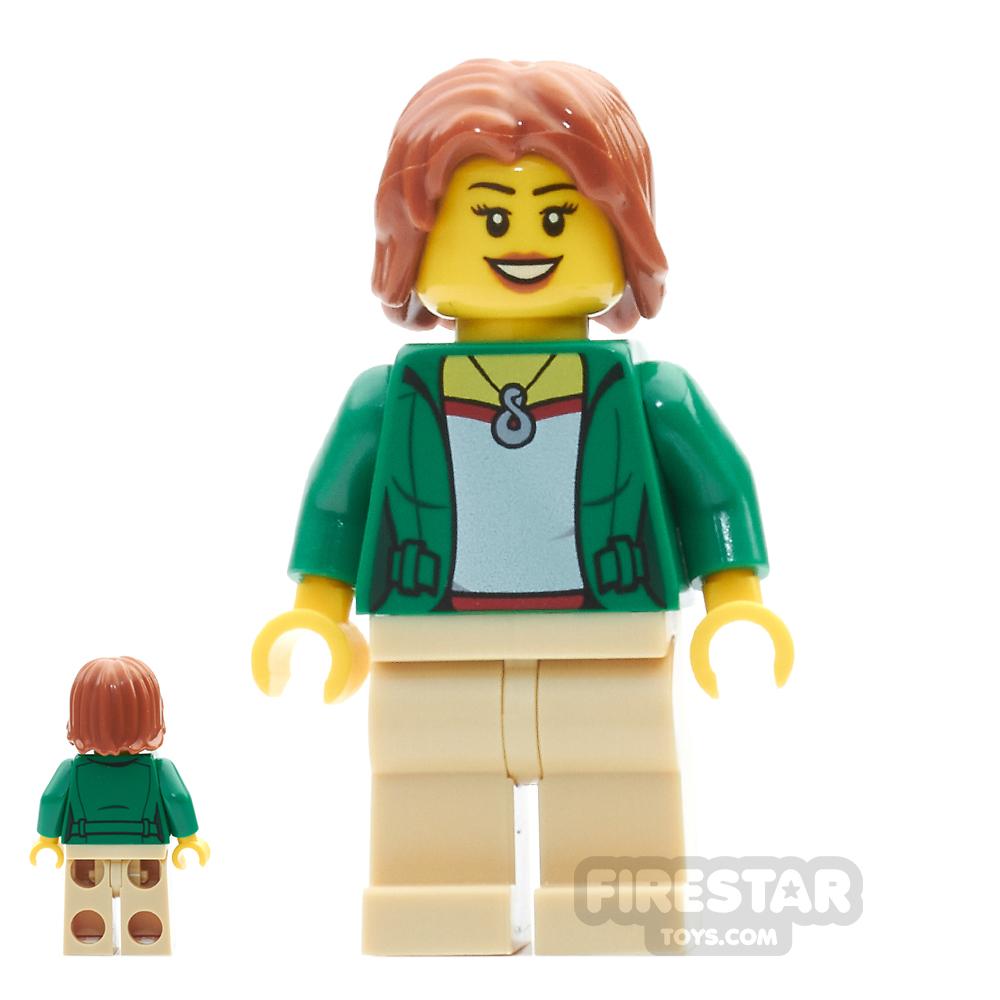 LEGO City Mini Figure - Camper - Female