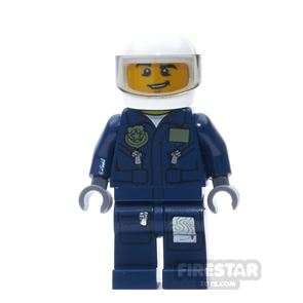LEGO City Mini Figure - Police Helicopter Pilot