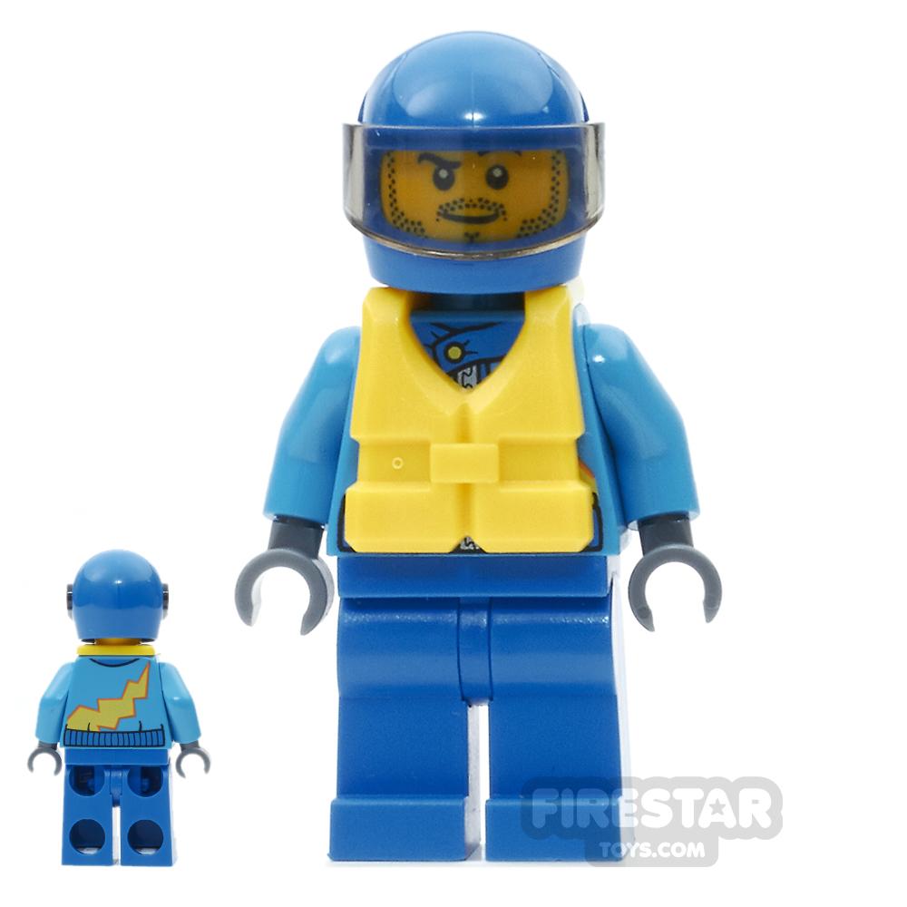LEGO City Mini Figure - Race Boat Driver