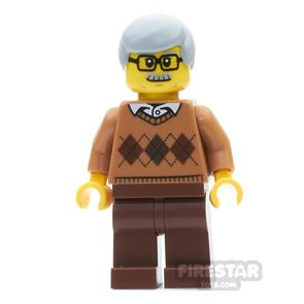 LEGO City Mini Figure - Grandfather