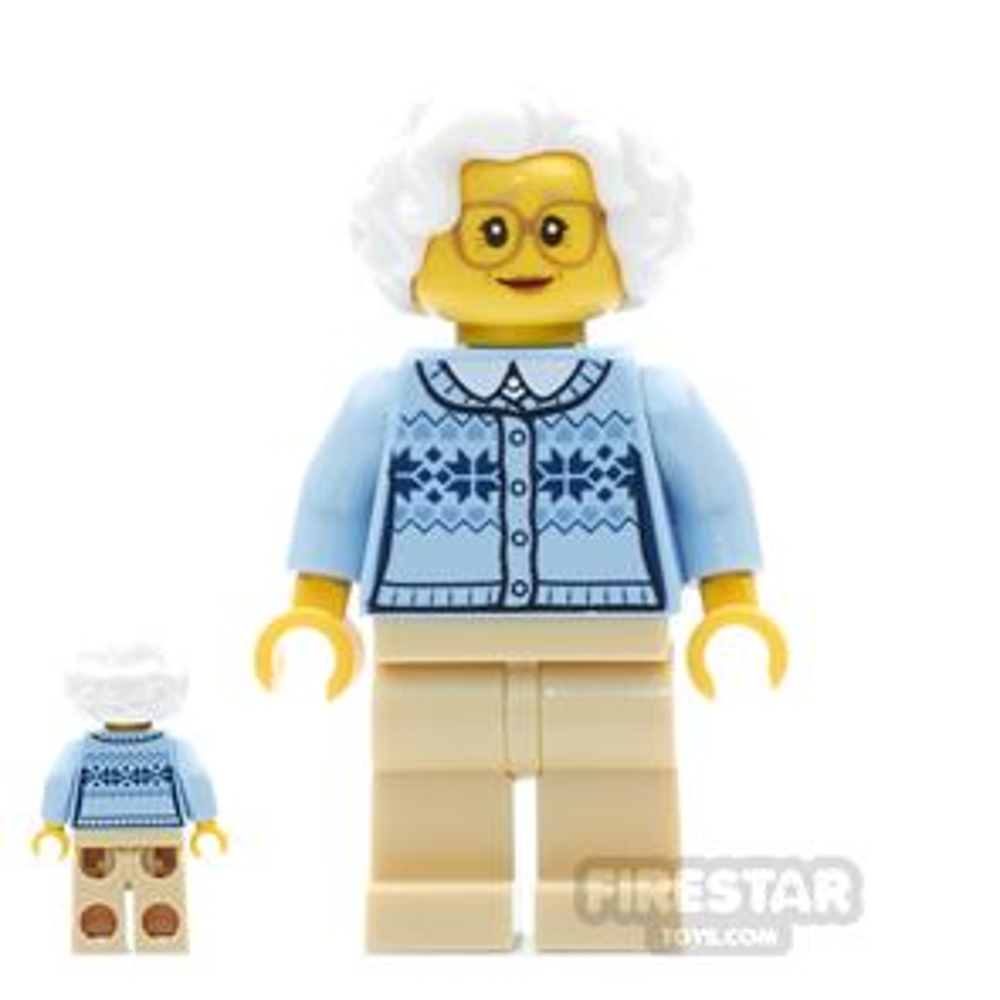 LEGO City Mini Figure - Grandmother
