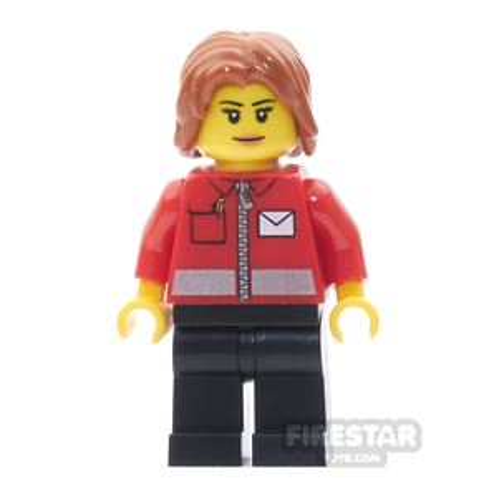 LEGO City Mini Figure - Post Office Worker