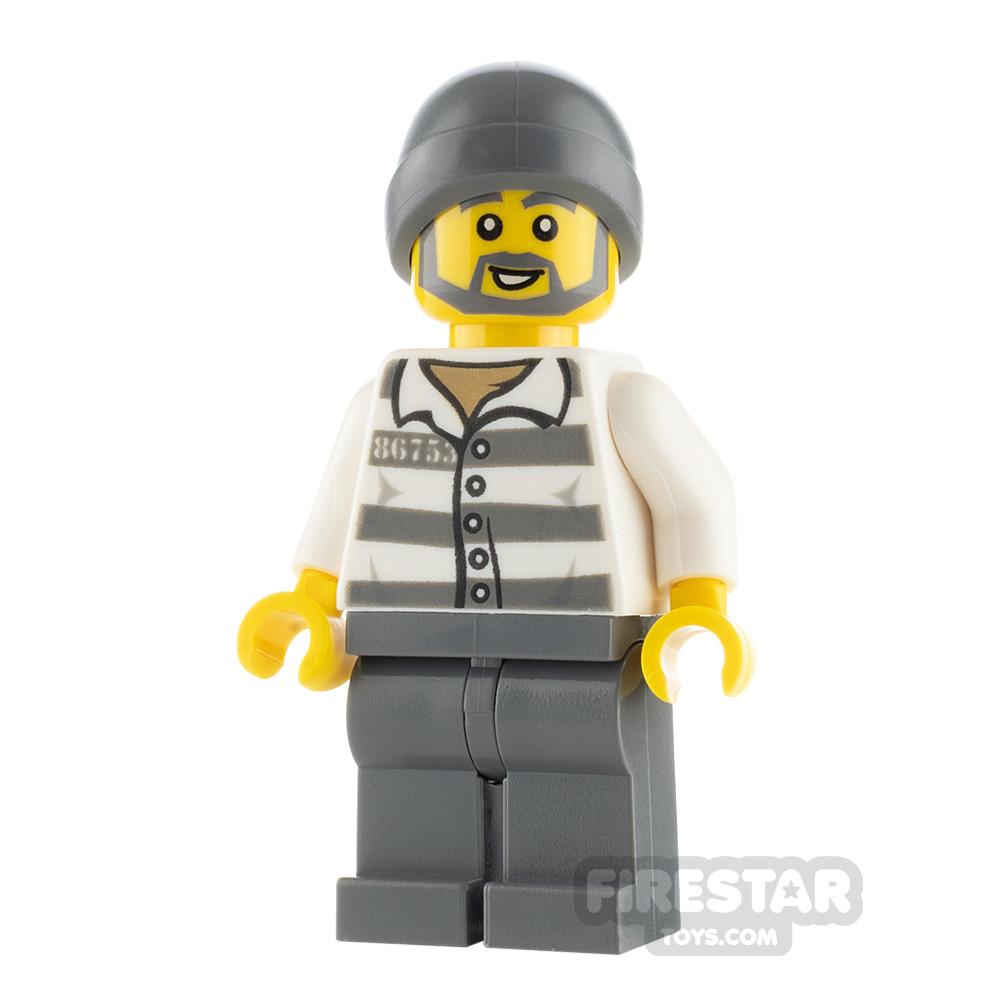 LEGO City Minfigure Jail Prisoner 86753