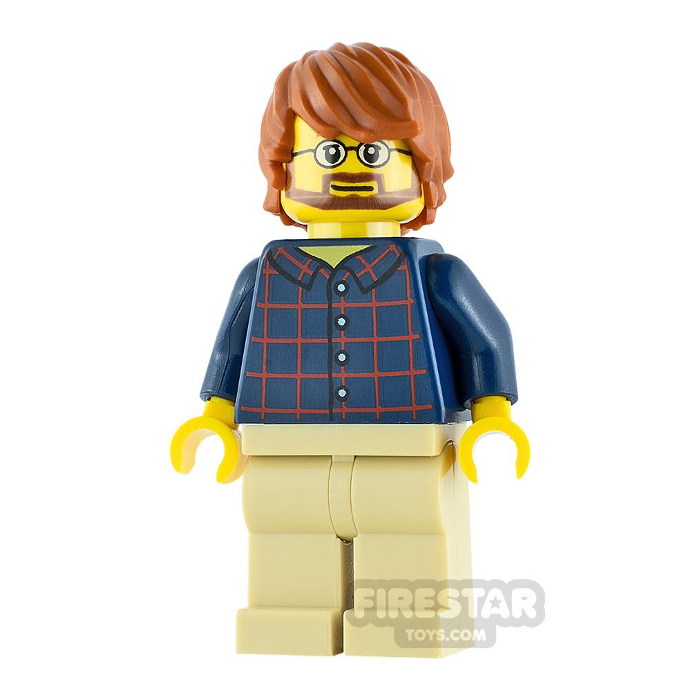 LEGO City Minifigure Beard with Glasses