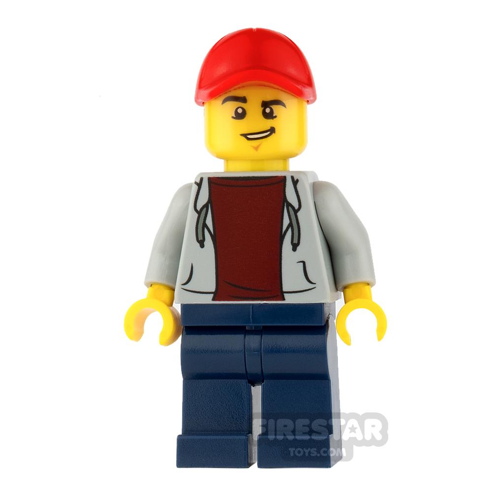 LEGO City Mini Figure - ATV Driver - Male