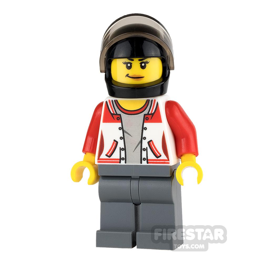 LEGO City Mini Figure - ATV Driver - Female