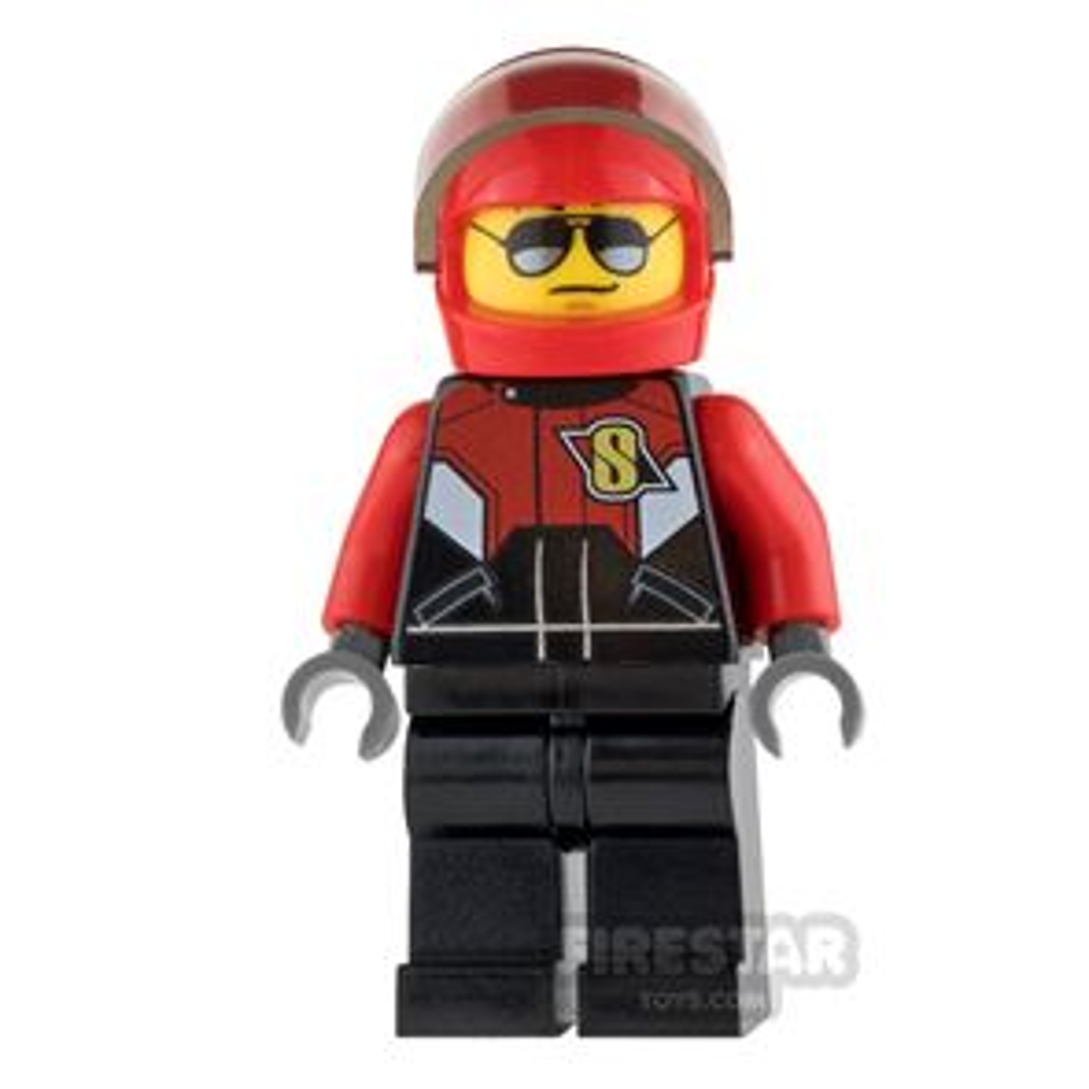 LEGO City Mini Figure - Pilot - Race Plane