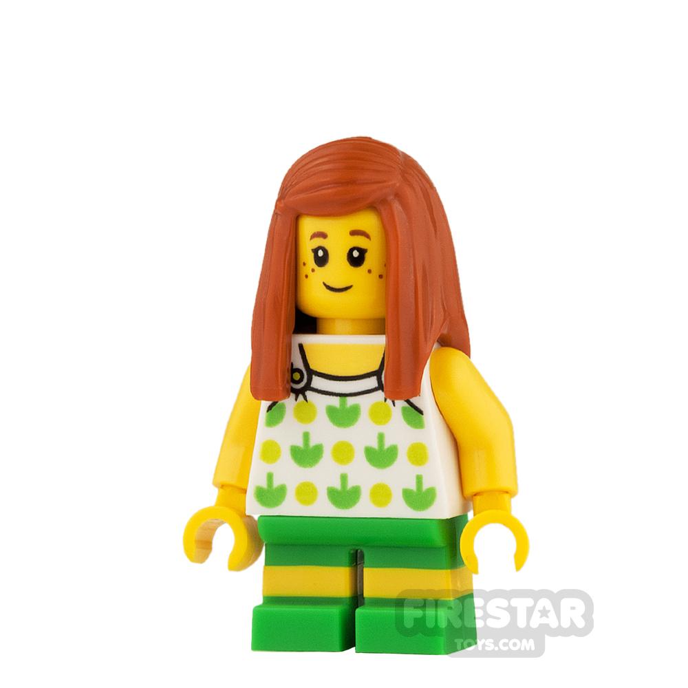 LEGO City Mini Figure - Apple Top and Short Legs