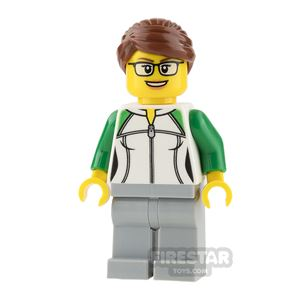 LEGO City Mini Figure - Newsstand Worker