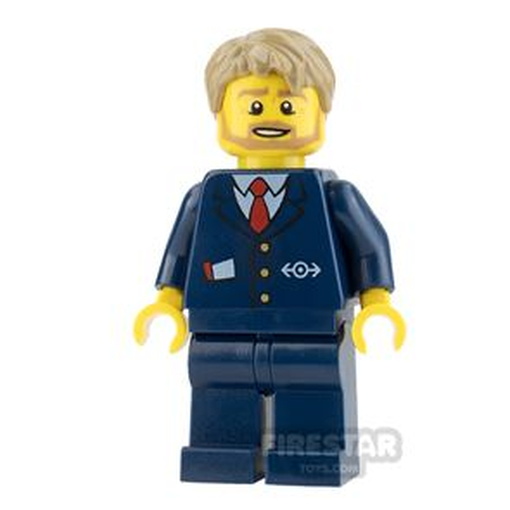 LEGO City Mini Figure - Bus Driver
