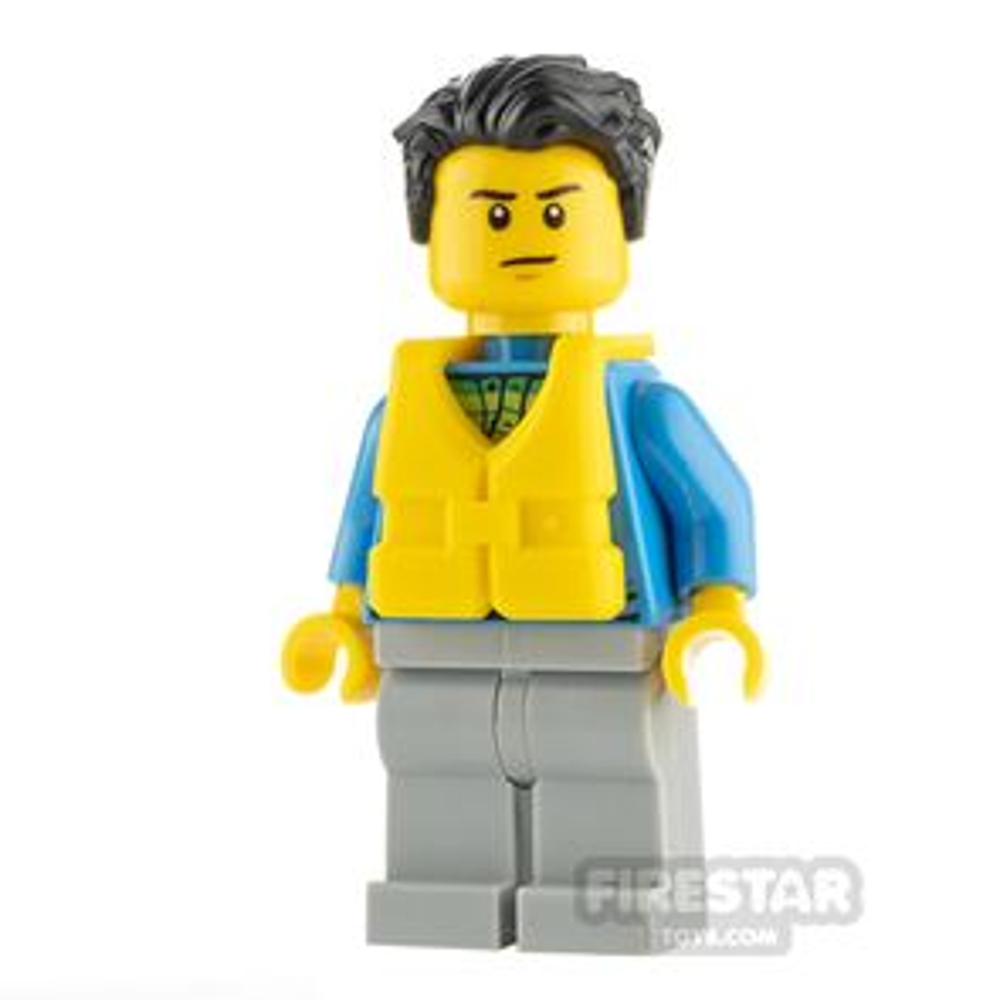 LEGO City Minifigure Sailboat Passenger