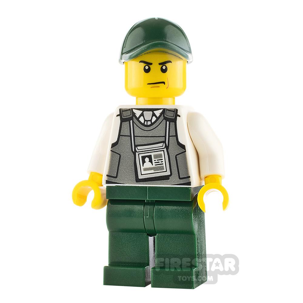 LEGO City Minifigure Mountain Police Armoured Truck Driver