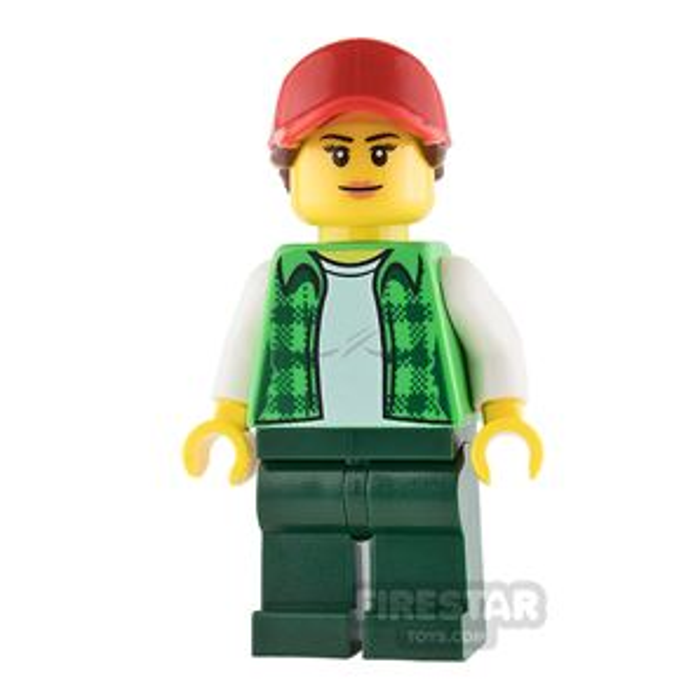 LEGO City Mini Figure - Truck Drive - Female