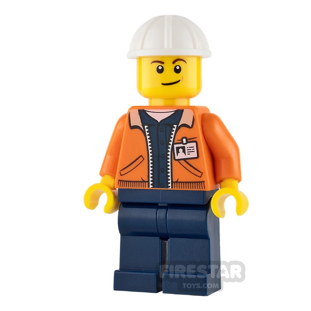 LEGO City Mini Figure - Miner - Equipment Operator