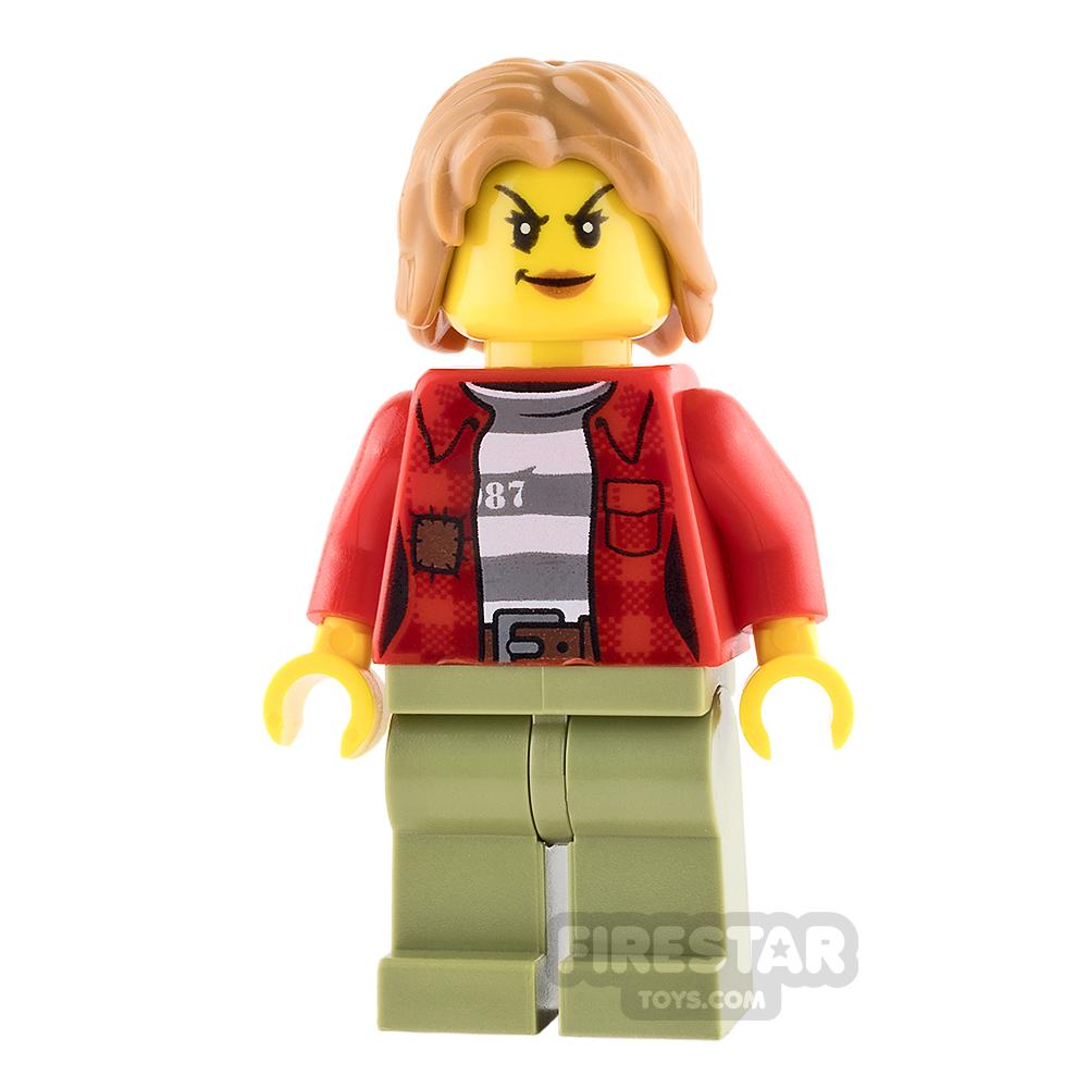 LEGO City Mini Figure - Mountain Police - Female Crook
