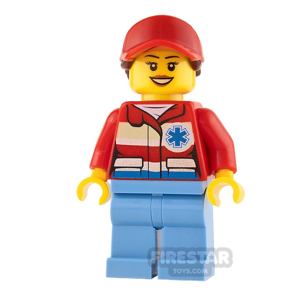LEGO City Mini Figure - Helicopter Medic - Female